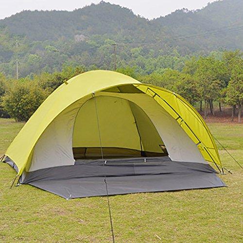 HAIPENG 3-4 Personen im Freien Freizeit Bergcampingausrüstung Zelte Doppelregendicht Winddicht...