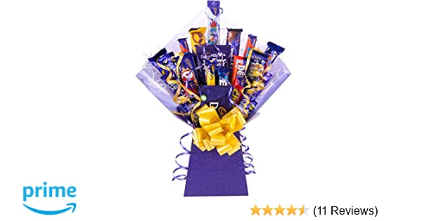 Cadbury Chocolate Bouquet Large 21 Piece Tree Explosion Gift Hamper  Selection Box - Perfect Gift
