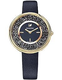 Swarovski Reloj Crystalline Pure, negro