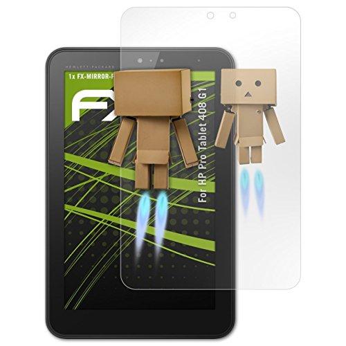 atFolix Bildschirmfolie für HP Pro Tablet 408 G1 Spiegelfolie, Spiegeleffekt FX Schutzfolie