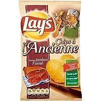 Lay's Chips à l'ancienne jambon fumé Le paquet de 120g - Livraison Gratuite pour les commandes en France - Prix...