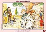 Jesus segnet die Kinder: Don Bosco Kinderbibelpuzzle (Don Bosco Kinderbibelpuzzle für Familie, Kindergarten, Kinderkirche und Grundschule)