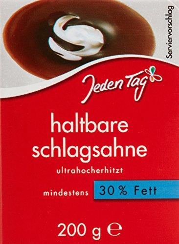 Jeden Tag H - Schlagsahne 30 Prozent, 27er Pack (27 x 200 g)
