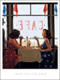 Migneco & Smith l'Affiche ILLUSTREE Jack Vettriano Cafe Days Stampa Artistica in Offset cm. 60 x 80 cod.0378060 Promo in Corso in Basso Pagina