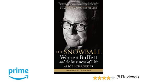 Amazon the snowball warren buffett and the business of life