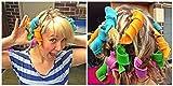 Ekan Roll Hair Tool Volume of Curly Hair Curly Tools In Multicolored for women, Hair Rollers, 25 Gram pack of 1