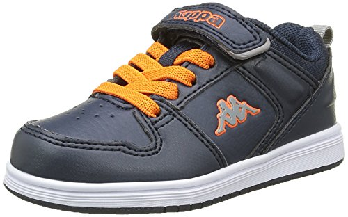 kappa-baby-jungen-jarvis-bb-lauflernschuhe-blau-bleu-929-blue-orange-27-eu