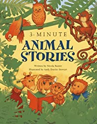 3-Minute Animal Stories: A special collection of short stories for bedtime by Nicola Baxter (2013-02-26)