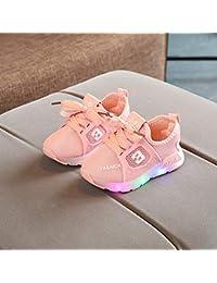 LanLan Zapatos de niños, Calzados/Zapatillas/Sandalias de niños Zapatos Ligeros de los niños Unisex Zapatos Respirables del bebé Antideslizante de los Deportes Ocasionales