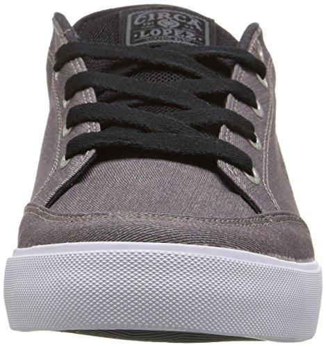 C1Rca - Lopez  50, Sneakers, unisex Steel/Black/White