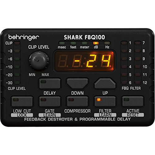 BEHRINGER FEEDBACK PROCESSORE SHARK FBQ100
