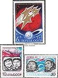 Prophila Collection Sowjetunion 4294-4296 (kompl.Ausg.) 1974 Erforschung des Weltraums (Briefmarken für Sammler) Weltraum