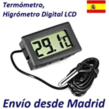 Termometro LCD Digital con Sonda para Frigorifico Congeladora Acuario Piscina