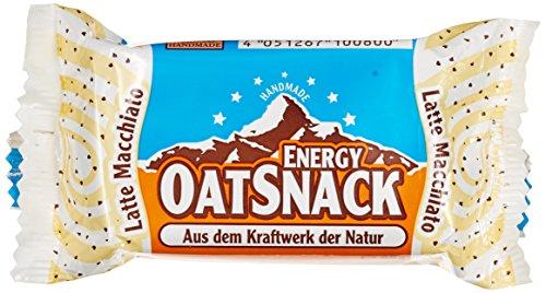 Energy OatSnack, natürliche Riegel - von Hand gemacht, Latte Macchiato, 30x65g, 1er Pack (1 x 1,95kg)