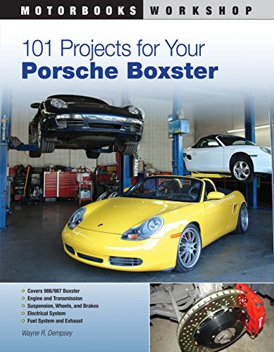 101 Projects for Your Porsche Boxster (Motorbooks Workshop) por Wayne Dempsey