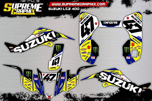 Kit Adhesivos Suzuki LTZ 400 Full Cover ADESIVI Sticker