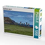 Die Osterinsel - Rapa Nui 1000 Teile Puzzle quer (CALVENDO Orte)