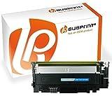Bubprint Toner kompatibel für Samsung CLT-Y406S/ELS für CLP-360 CLP-365 CLP-365W CLX-3300 CLX-3305 CLX-3305FN CLX-3305W Xpress C410W C460FW C460W Gelb