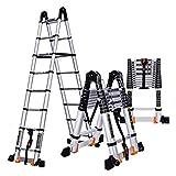 Mehrzweckleitern Teleskop-Leiter Aluminium Portable Multi Funktion Zweck faltende Erweiterungsleiter EN131 Zertifiziert CHENGYI (größe : 3.5m)