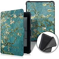 XIHAMA Funda para Kindle Paperwhite, Compatible con Todo Modo de Paperwhite Cuero de PU con Auto Encendido/Apagado(No para Nuevo Paperwhite 10th Gen) (Flor)