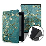 #5: ProElite Smart Flip case cover for Amazon Kindle Paperwhite (Flower)
