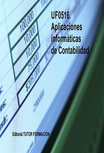 Aplicaciones informáticas de Contabilidad. UF0516 por Enrique Domínguez Gonzalo