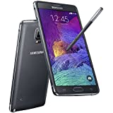 Samsung Galaxy Note 4 Duos 16GB schwarz (charcoal black) Smartphone (5,7 Zoll (14,4 cm), Super AMOLED Display, 16 Megapixel Kamera, S-Pen, Dual-Sim) Handy