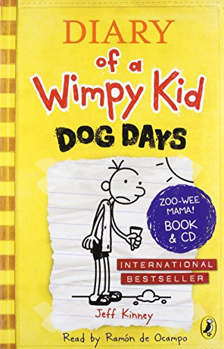 Diary of a Wimpy Kid: Dog Days (Gift edition book + CD) (Paperback) Diary of a Wimpy Kid: Dog Days (Gift edition book + CD) - Jeff Kinney
