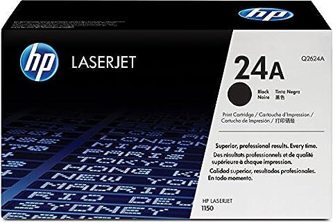 HP 24A (Q2624A) Schwarz Original Toner für HP Laserjet
