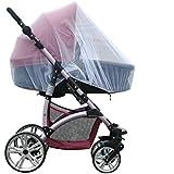 NALATI Moustiquaire pour Poussette/landau/Nacelle/Siège Auto/Couffin de Bébé Protection Anti Insectes