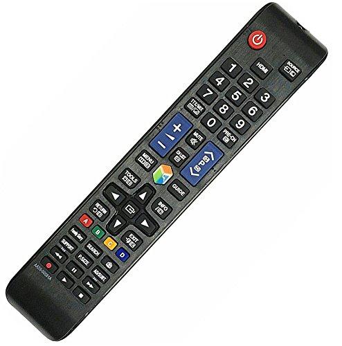 Allimity AA59-00638A Fernbedienung kompatibel mit Samsung TV TM1250B UE40ES7000S UE40ES7000U UE40ES7005 UE UE40ES7080U UE40ES7090S UE40ES7500S UE40ES7507U UE40ES8000S UE40ES8000U UE40ES8005U