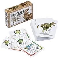 Adlung Spiele 46131 Manimals Dinos 1 – Juego de cartas sobre dinosaurios (contenido en alemán)