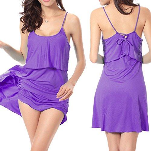 ... Sidiou Group Kleid für Urlaub,Strandkleid von 90% Polyester,Strandkleid,  dass er ...