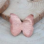 Broche mariposa en color rosado, broche para ropa mujer.