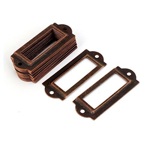 20-stuck-coppertone-metall-aktenschrank-etikettenrahmen-schrankrahmen-rahmen