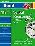 Bond 10 Minute Tests 10 - 11 years Verbal Reasoning