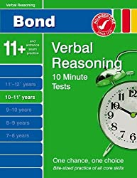 Bond 10 Minute Tests 10 - 11 years Verbal Reasoning