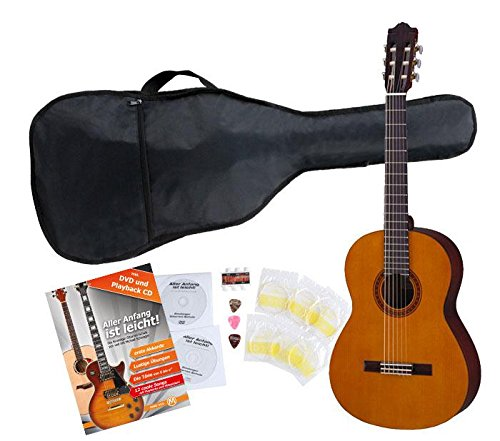Yamaha C40 Konzertgitarre SET inkl. Zubehörset