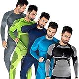 Blacksnake® Funktionsunterwäsche Herren Unterhemden Seamless Unterwäsche Sport