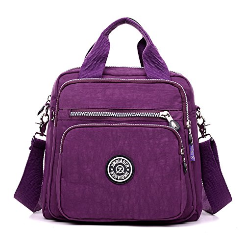 Foino borsetta donna borse a spalla casuale borsa tracolla leggero zaino impermeabile sacchetto scuola borse da viaggio borsello moda sport bag per ragazze