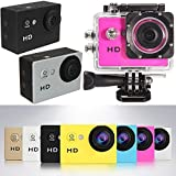 #7: Berry Collection Mini HD Strong Camera with Cover HD 1080P Cam Sports Action Waterproof Camera Multiple Photo Shooting Modes Vehicle-Mounted Color Multicolor