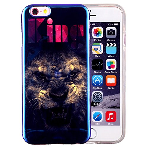 Wkae Case & Cover Pour iPhone 6 &6s IMD pissenlits Motif Housse de protection TPU souple Blu-ray ( SKU : IP6G2040K ) IP6G2040F