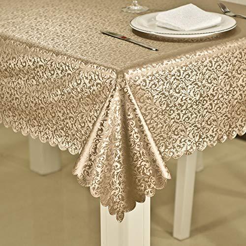 LYINHGL Estilo Europeo Que Imprime el Mantel Rectangular del Hotel del Restaurante...