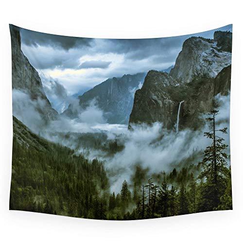 Rjjdd Yosemite Wandteppich Hochzeit Geschenk Tagesdecke Strandtuch Yoga Picknick Matte 200X150 cm