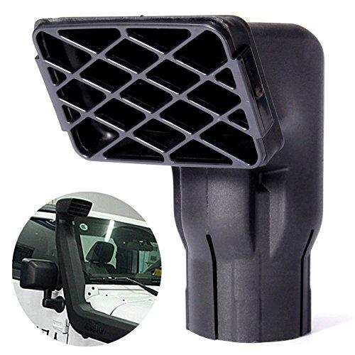 Preisvergleich Produktbild GOZAR 3Inch Universal Fit Off Road Ersatz Verschlammung Schnorchel Kopf Luftzufuhr