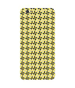 Yellow Triangles Gionee S6 Case