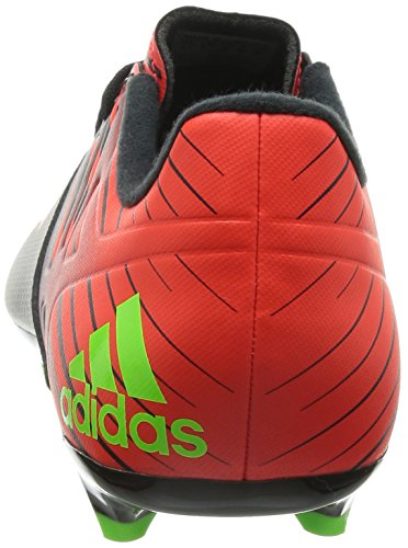adidas Messi 15.3 Fg/Ag, Chaussures de Football Homme Multicolore (Core Black/Solar Green/Solar Red)