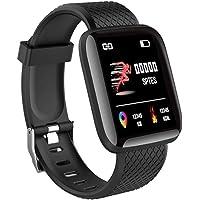 Teconica BNM85 Smart Band Intelligent Bracelet Waterproof Fitness Tracker with Heart Rate, Blood Pressure, Calories…