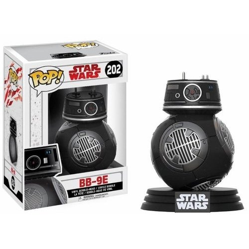 Foto FunKo The Last Pop Bobble: Star Wars: Gli Ultimi Jedi: BB-9E, 14751