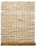 ITALFROM Arella in Bamboo Varie Misure Canniccio Arelle Ombra Tenda con carrucola (120x260 cm)